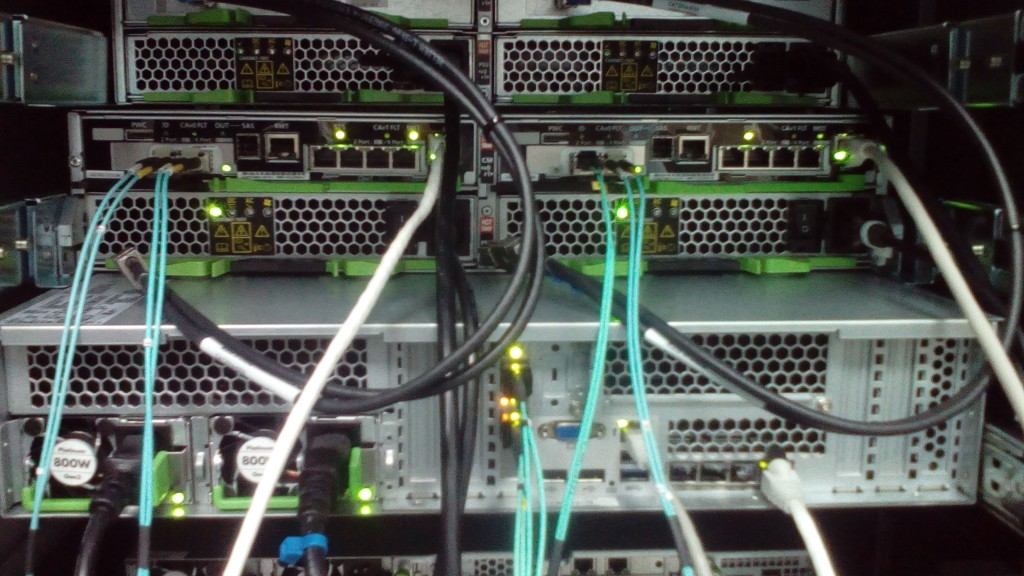 Подключение СХД к серверу