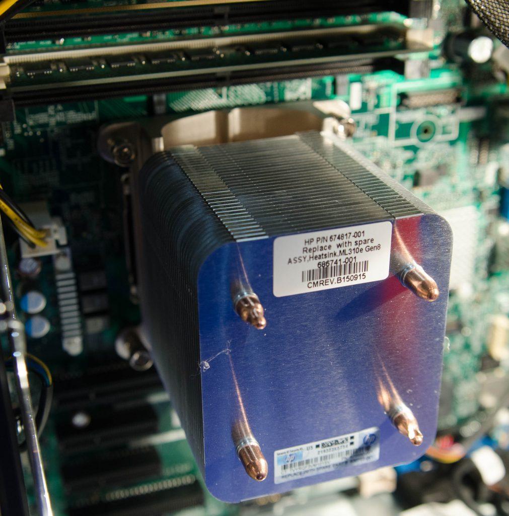 Радиатор охлаждения процессора